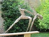 Moondance by Penny Hardy, Sculpture, Aluminium wire and epoxy resin